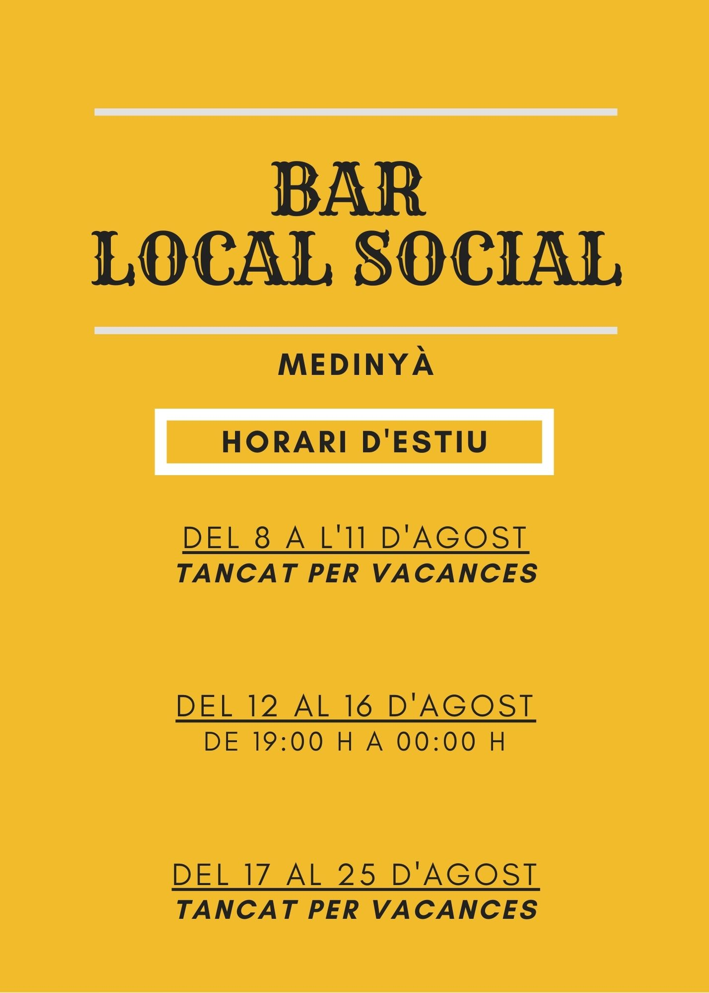 Bar Local Social de Medinyà (2)